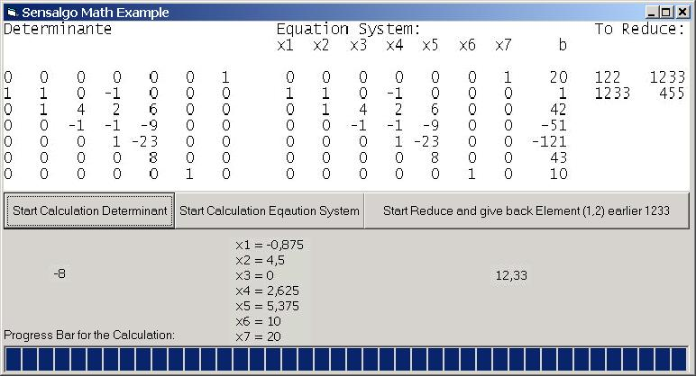 Math ActiveX Screen shot