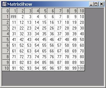 MatrixShow ActiveX Screen shot